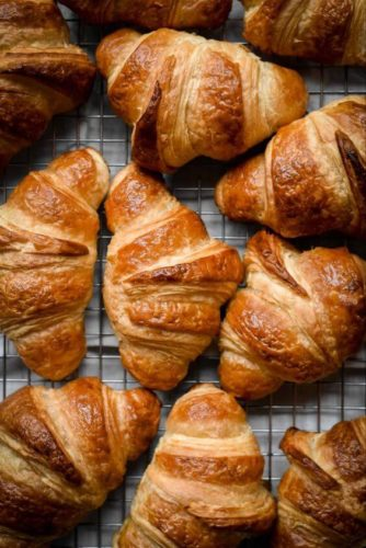 diy homemade french croissants