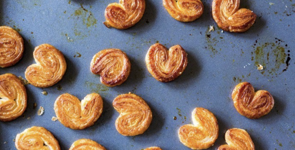 French pastry Palmiers