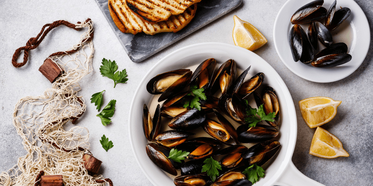 French Mussels