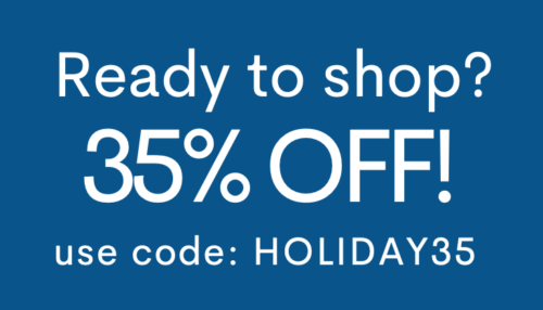 35% off code: HOLIDAY35