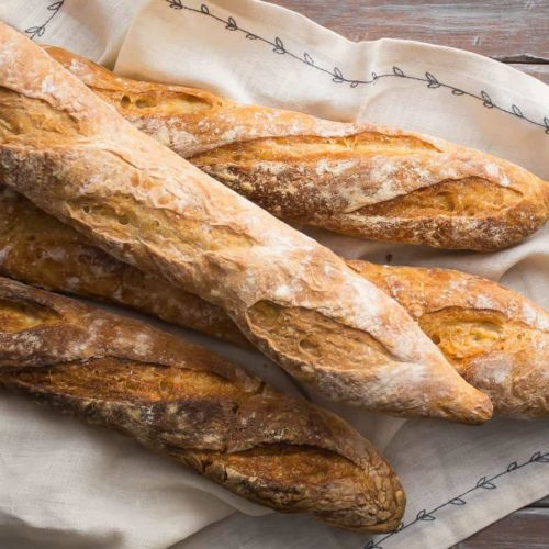 4 FRENCH BAGUETTES