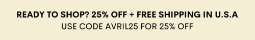 OuiPlease Coupon Code 25% off AVRIL25