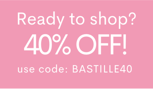 Bastille Day Coupon 40% off
