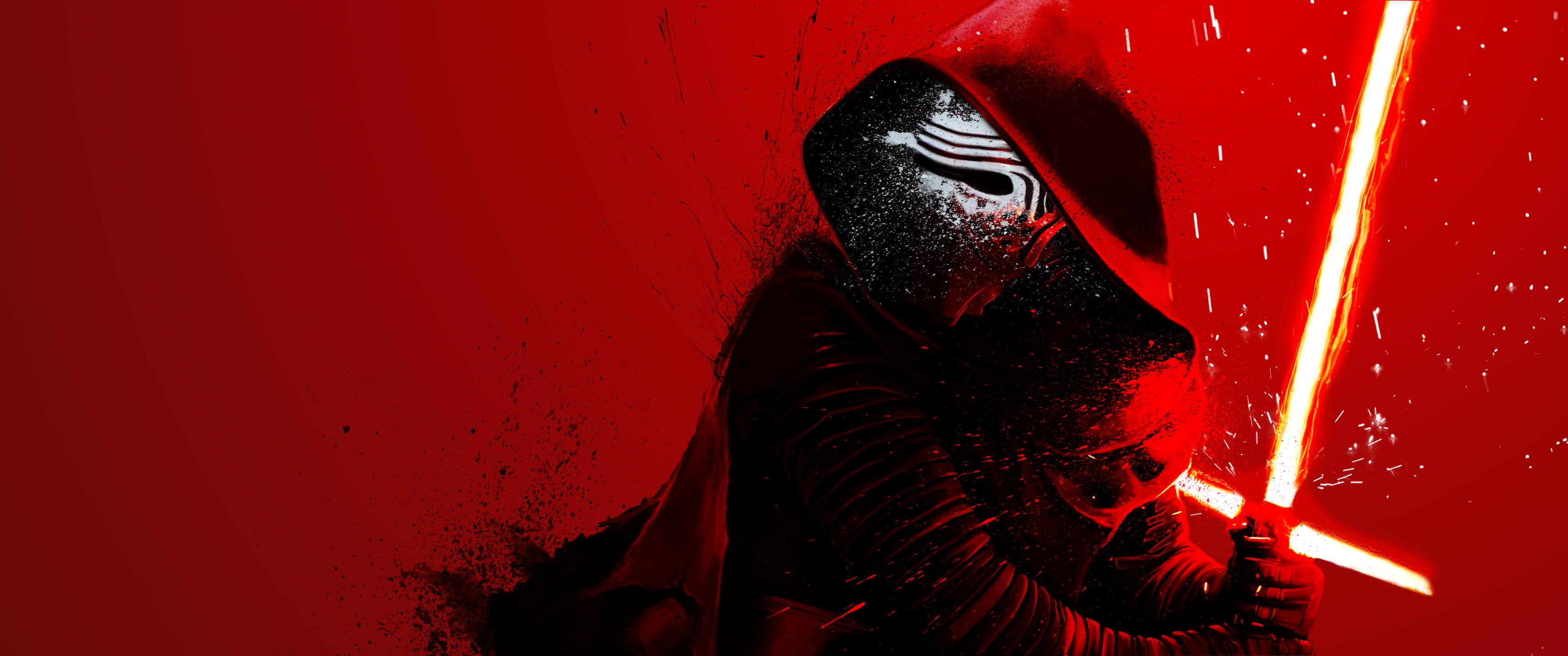 kylo ren star wars the force awakens red background lightsaber wallpaper dfc5826cfe465c1b65dc38f201f104d4