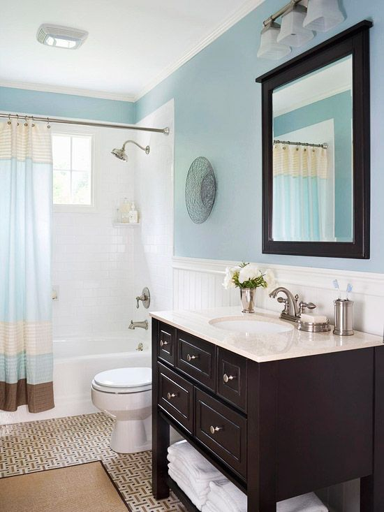 Best Blue Color For Bathroom