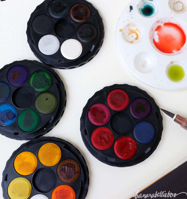 Watercolor Discs At Paintingvalley Com Explore Collection Of