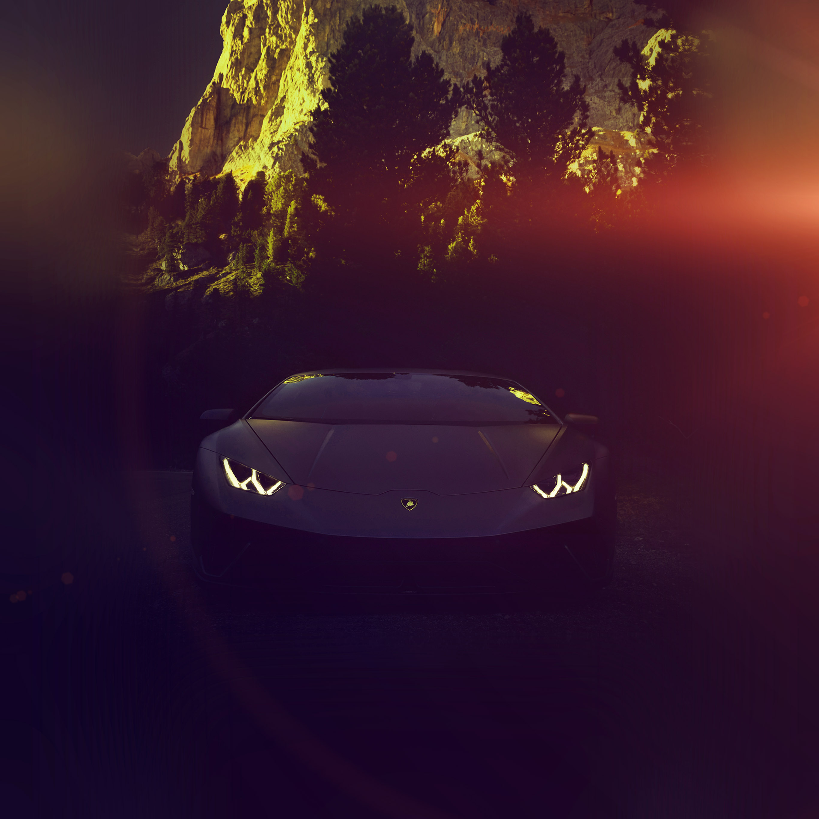 papers.co be99 car lamborghini dark city art flare 40 wallpaper
