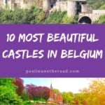Are you looking for the best castles in Belgium? Learn more about the most beautiful castles in Belgium hand-picked by a castle-expert! Find out about intriguing background stories and about Belgian castles where you can actually stay overnight. No matter whether you are looking for castles near Brussels or Flemish castles close to Bruges or Ghent, this list encompasses a selection of hidden gems and architectural castles and chateaus in Belgium. #belgium #castle #belgiancastle #castlesinbelgium