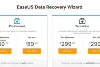 Review EaseuUS Data Recovery Wizard Professional