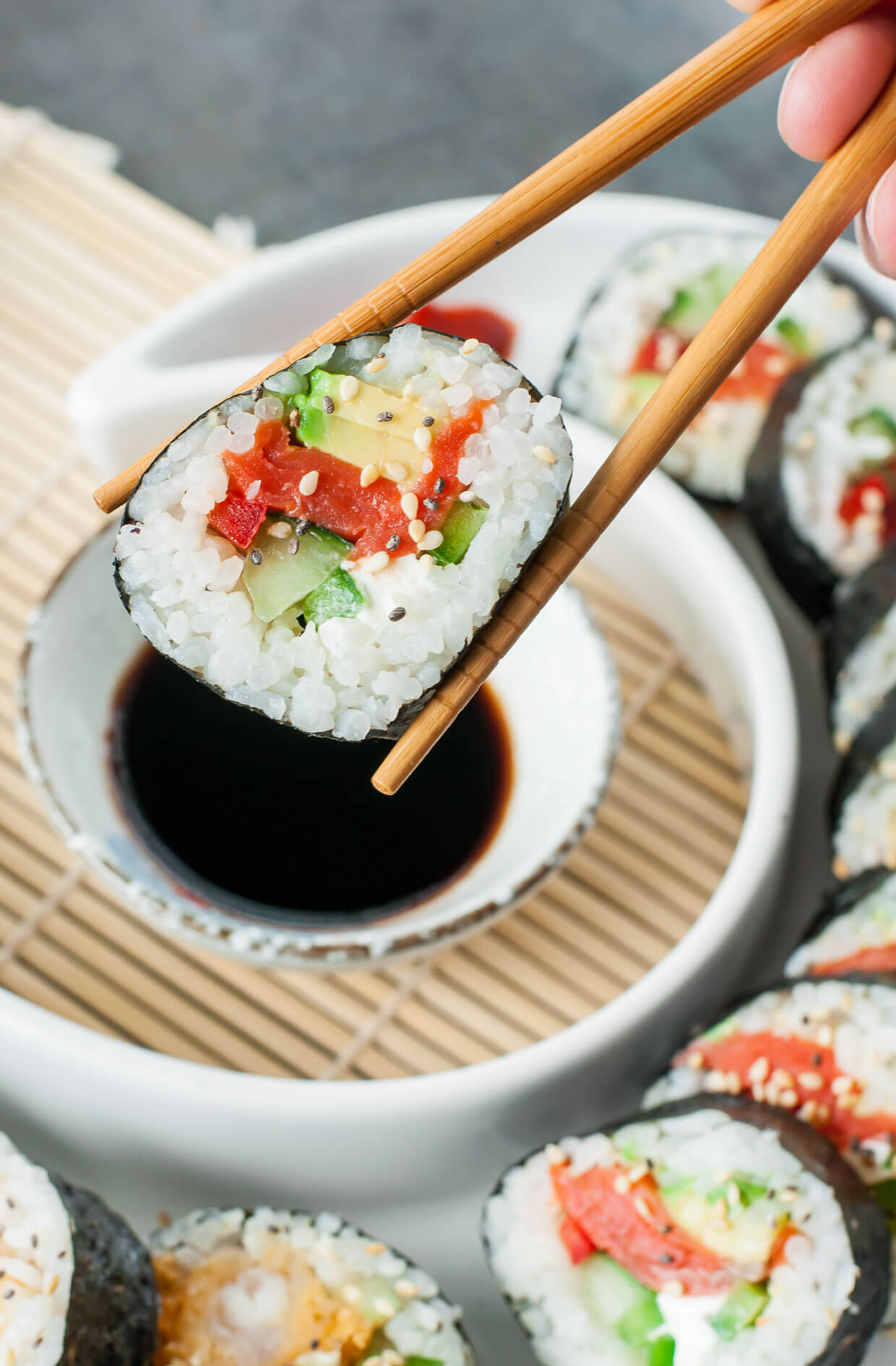 Homemade Sushi Tutorial: easy-to-follow Tips, Tricks, and Toppings!