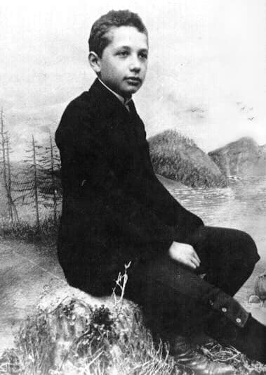 12 year old Albert Einstein