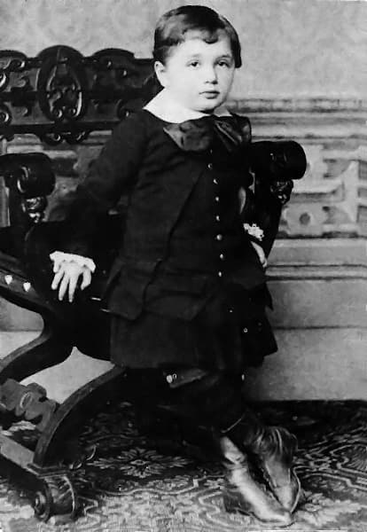 3 year old Albert Einstein