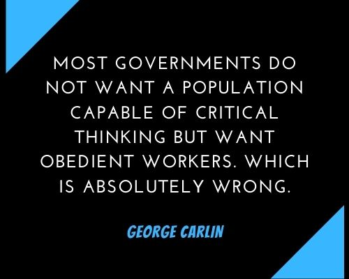 george carlin quotes government