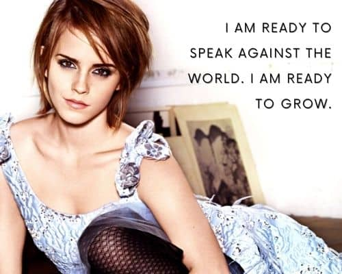 inspirational quotes by emma watson
