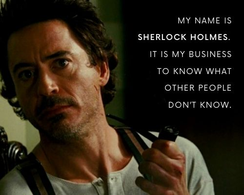 Famous Sherlock Holmes Quotes