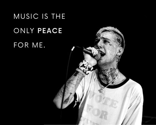 Lil Peep Quotes on Music