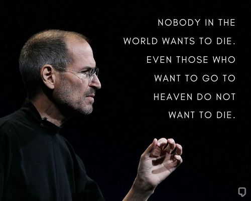 Steve Jobs Quotes On Death