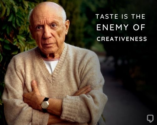 picasso creativity quotes