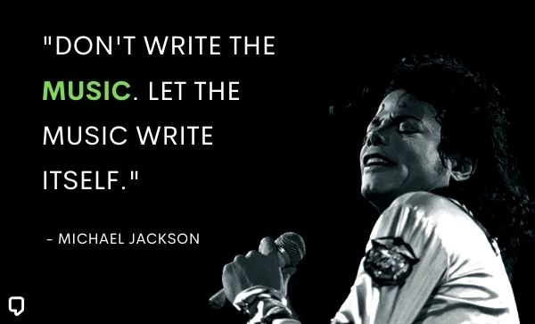 michael jackson quotes about music