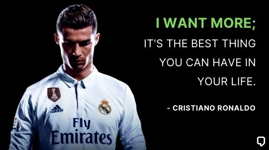 cristiano ronaldo motivational quotes