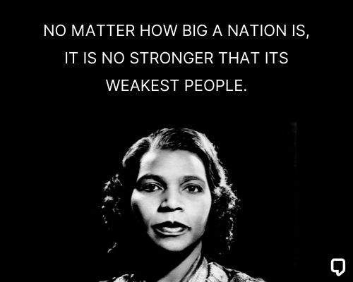 famous marian anderson quotes