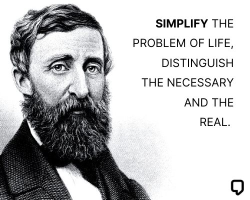 henry david thoreau quotes on simplicity