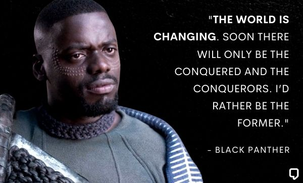 Black Panther Movie Quotes
