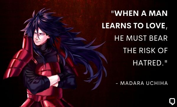 Madara Quotes About Love