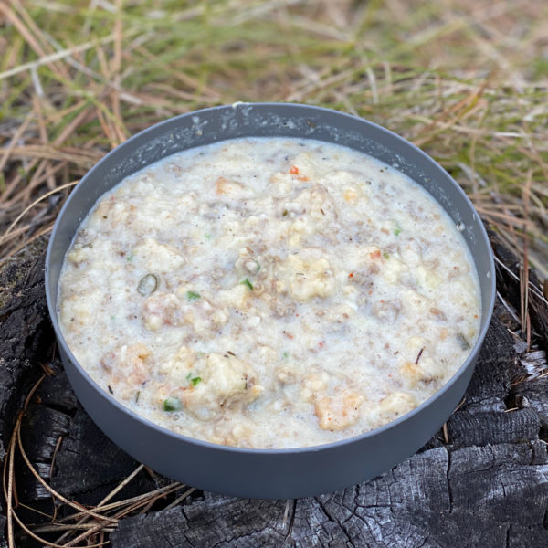 Reconstituted Biscuits and Gravy