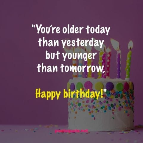 50 Funny Birthday Quotes For You And Friends Pixelsquote Net
