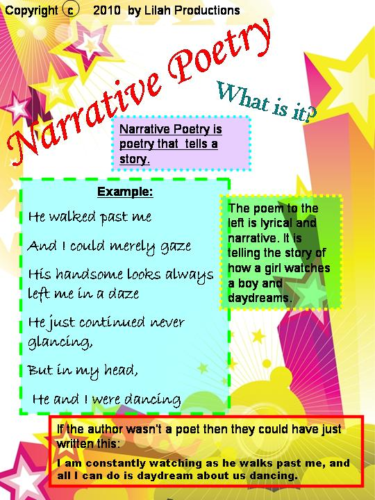 Examples Of Narrative Poems 6