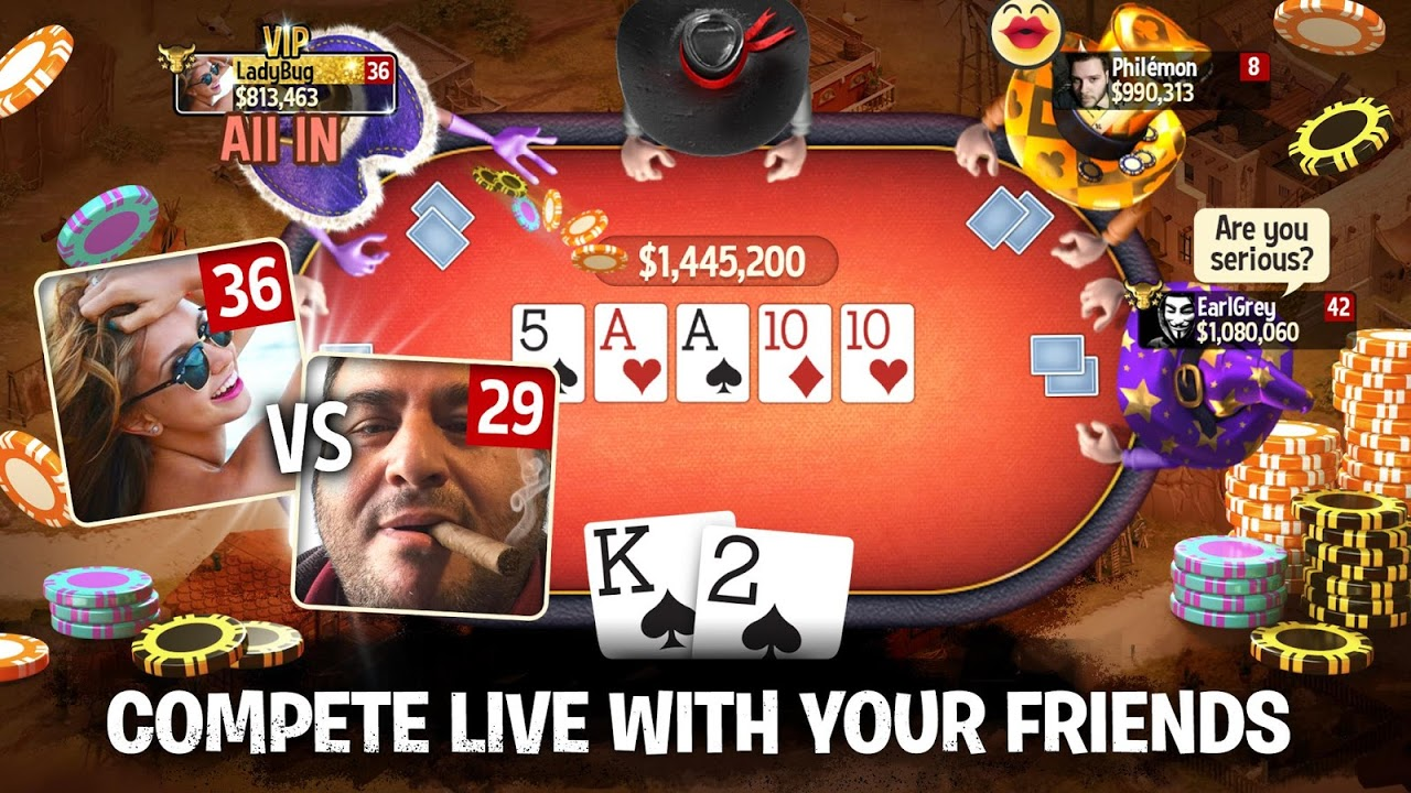 Governor of Poker 3 – Texas Holdem With Friends