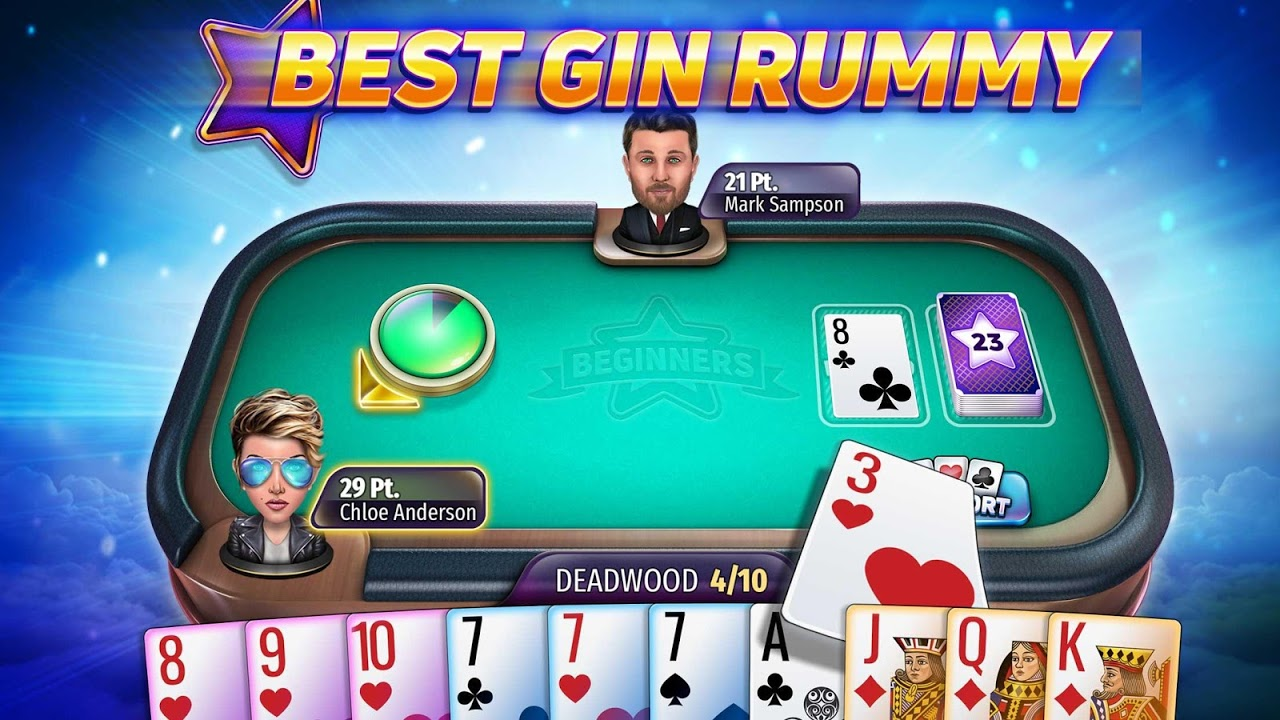 Gin Rummy Stars – Play Free Online Rummy Card Game