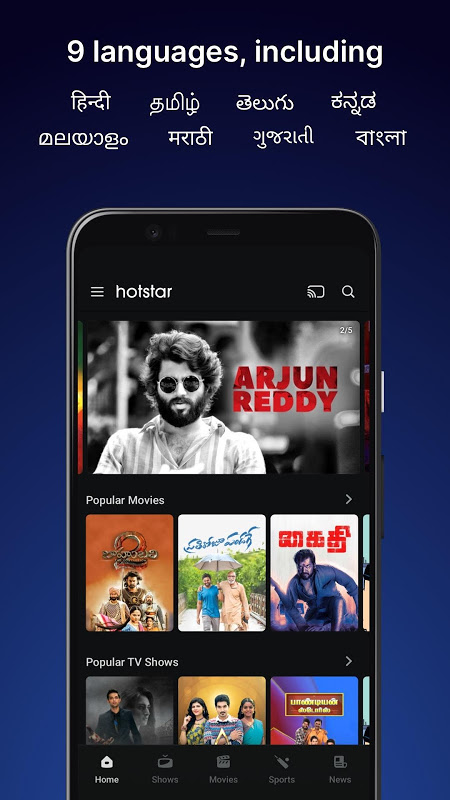 Hotstar – Live Cricket, Movies, TV Shows