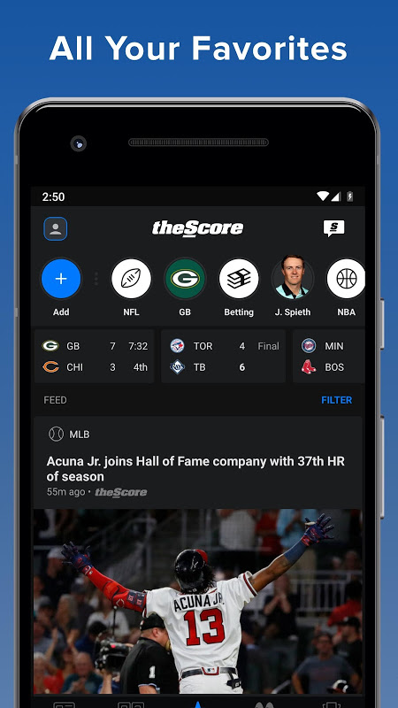 theScore: Live Sports Scores, News, Stats & Videos