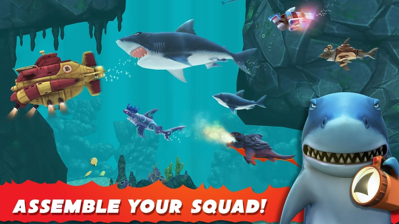 Hungry Shark Evolution – Offline survival game
