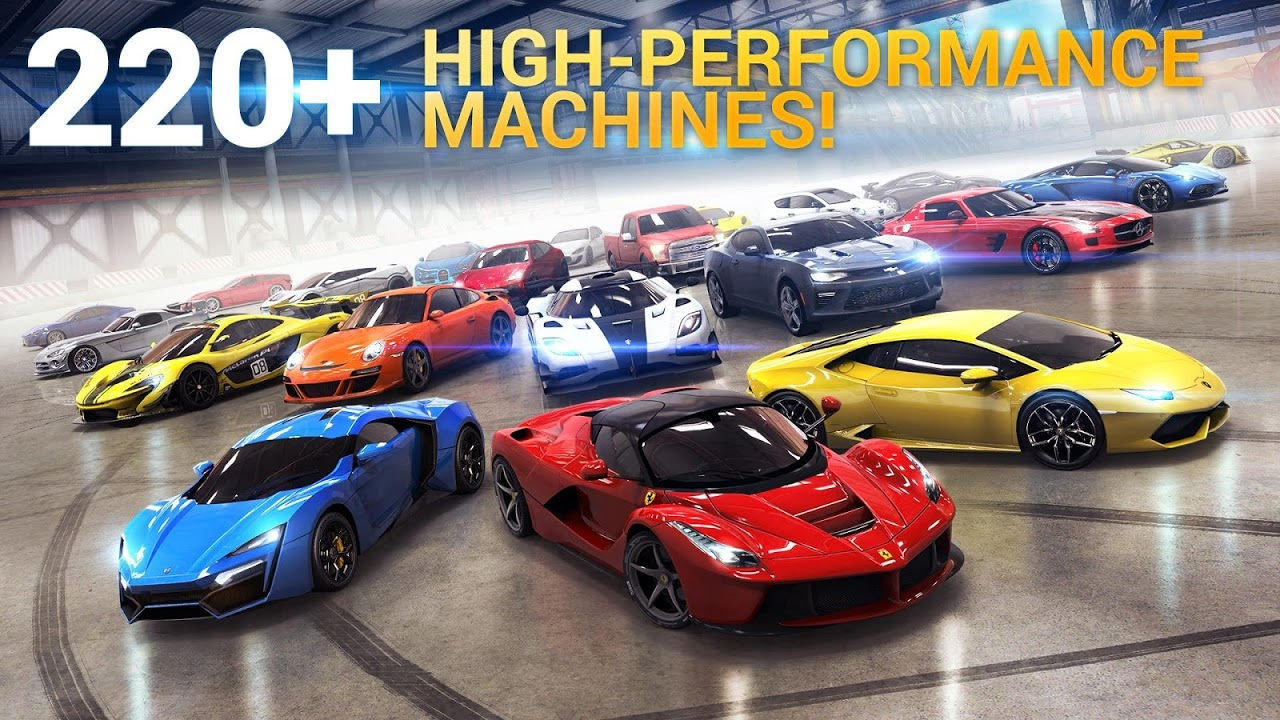 Asphalt 8: Airborne – Fun Real Car Racing Game