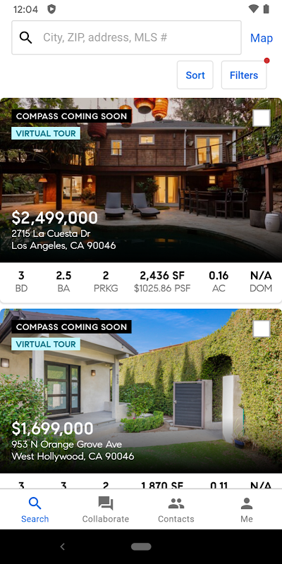 Compass Real Estate – Homes