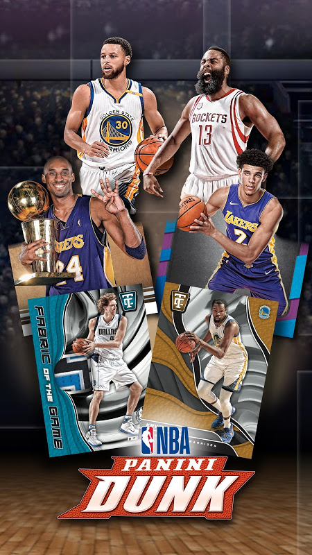 NBA Dunk – Play Basketball Trading Card Games