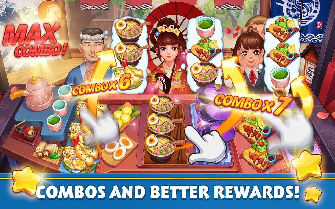 Cooking Voyage – Crazy Chef's Restaurant Dash Game