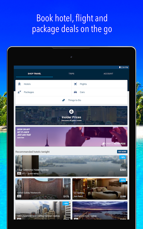 Orbitz – Find Flights & Hotel Travel Deals