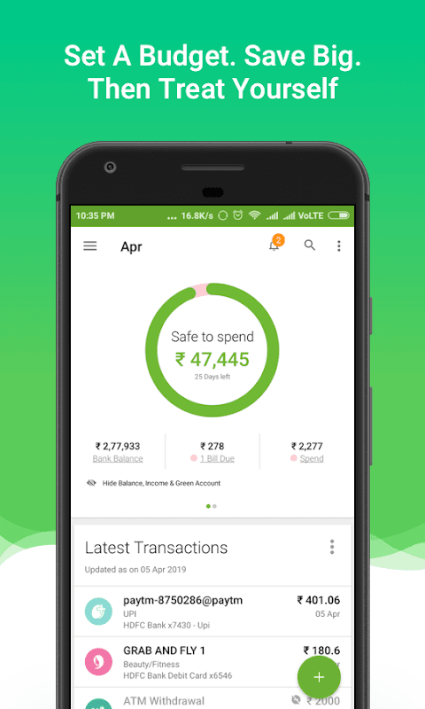 Money View Money Manager and Instant Personal Loan