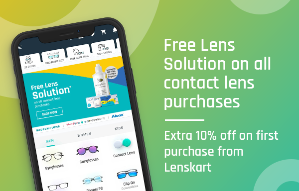 Lenskart: Eyeglasses, Sunglasses, Contact Lens App