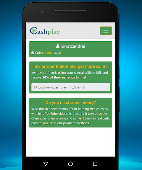 CashPlay – Watch and earn money