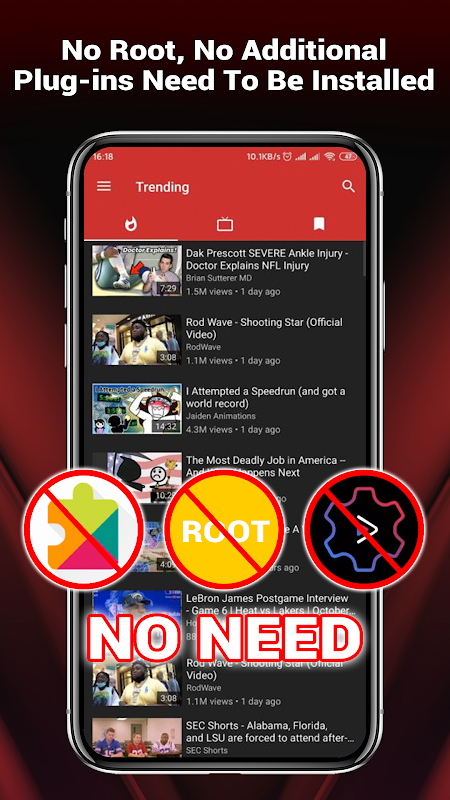YouTube Vanced Official – Block All Ads For Tube Vanced