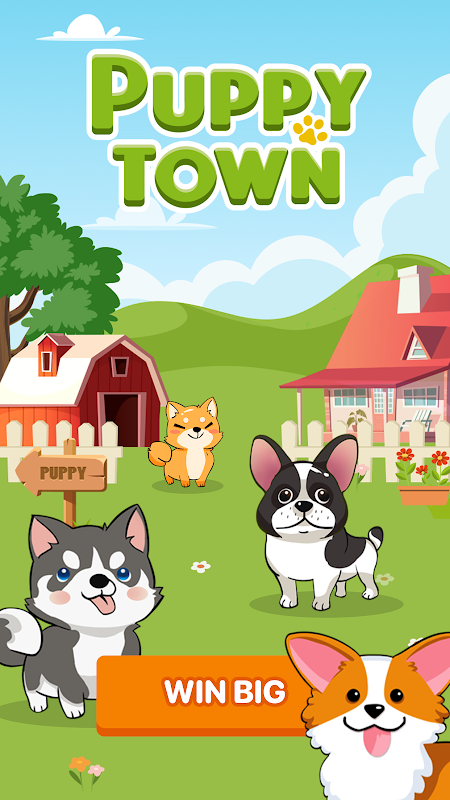 Puppy Town – Merge & Win💰