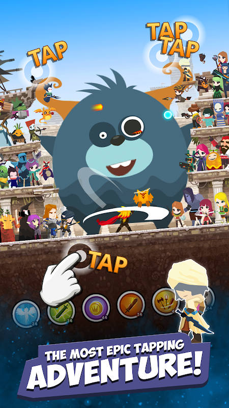 Tap Titans 2 – Combat of Heroes. Clicker Game