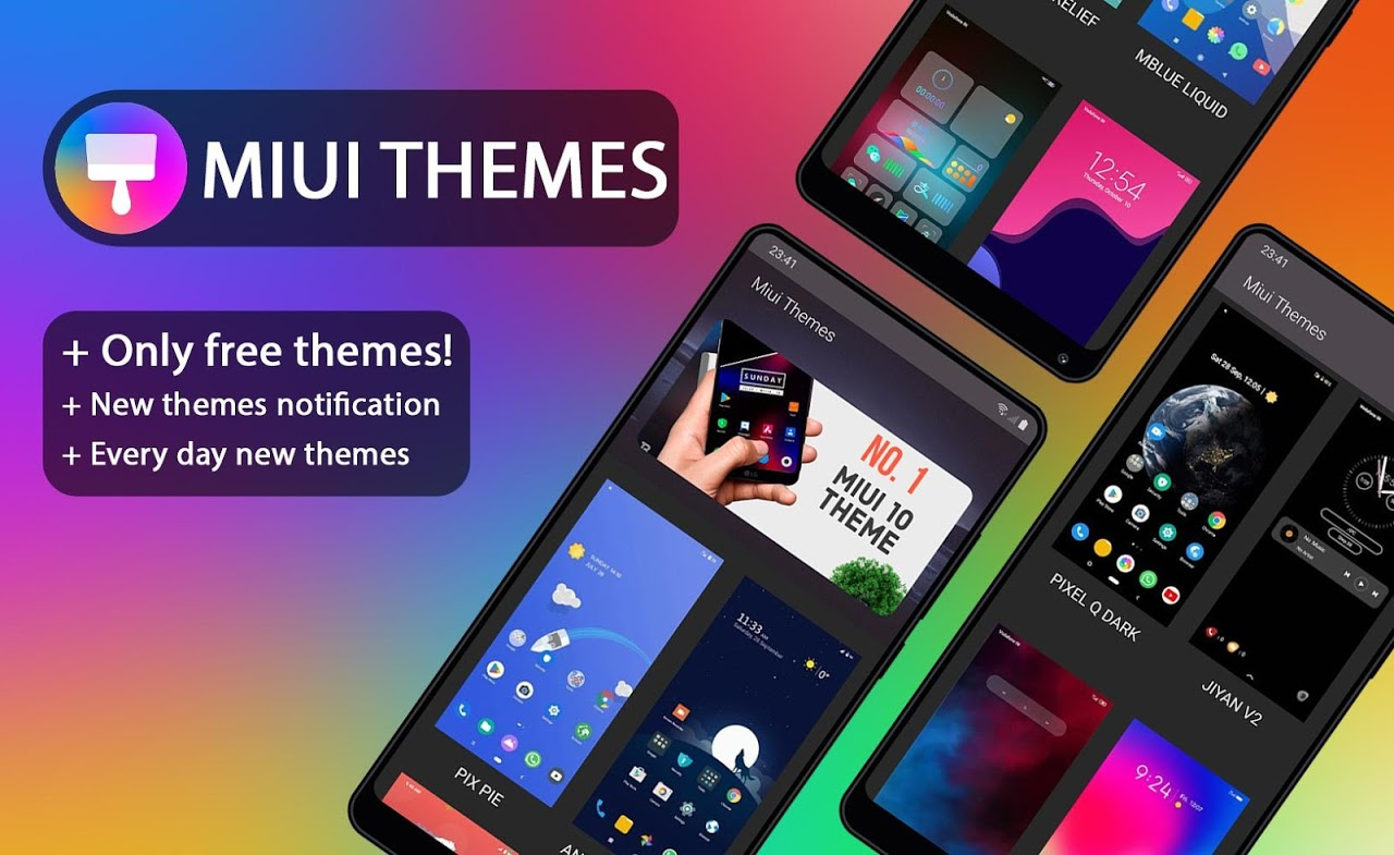 Themes for MIUI – Only FREE!