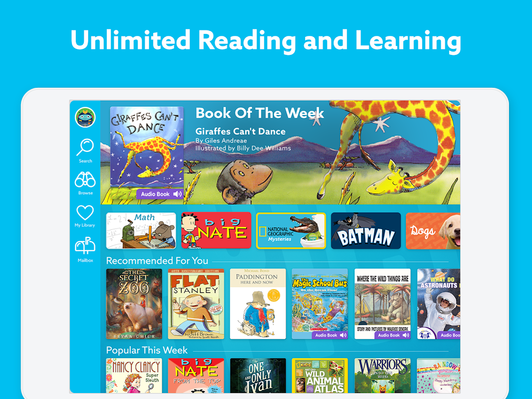 Epic: Kids' Books & Educational Reading Library