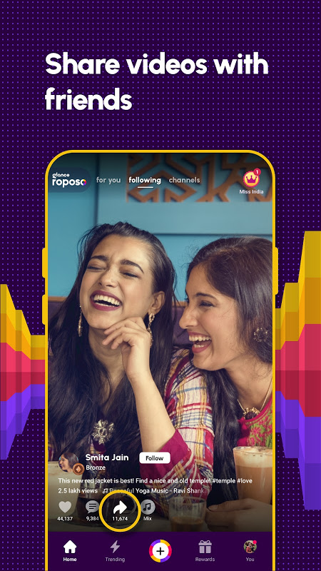 Roposo: Indian Short Video App. Viral Funny Videos